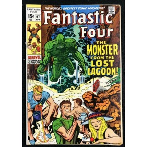 Fantastic Four (1961) #97 VG+ (4.5) Stan Lee Story Jack Kirby Art