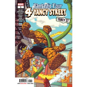 Fantastic Four: 4 Yancy Street (2019) #1 VF/NM Greg Smallwood Cover