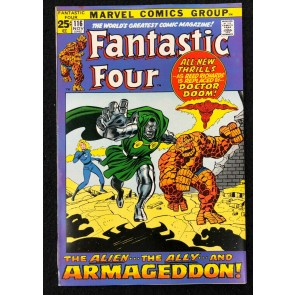 Fantastic Four (1961) #116 VF (8.0) Doctor Doom Joins John Buscema Cover & Art