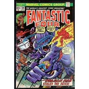 Fantastic Four (1961) #134 VG/FN (5.0) Vs Dragon Man