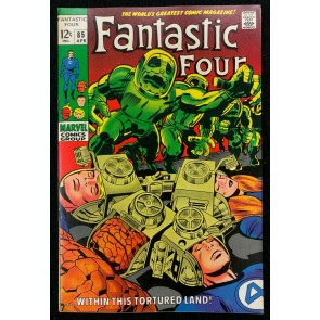 Fantastic Four (1961) #85 VF+ (8.5) Jack Kirby Cover & Art