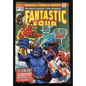 Fantastic Four (1961) #145 FN+ (6.5) vs Ternak The Abominable Snowman
