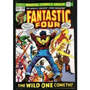 Fantastic Four (1961) #136 FN/VF (7.0) Shaper Of Worlds app