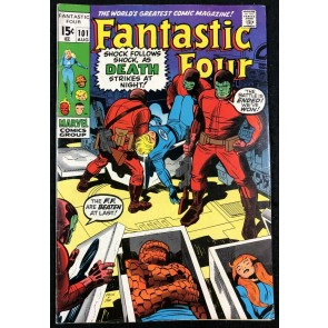 Fantastic Four (1961) #101 FN/VF (7.0) Last Jack Kirby Issue