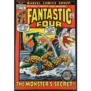 Fantastic Four (1961) #125 FN- (5.5) Picture Frame Cover