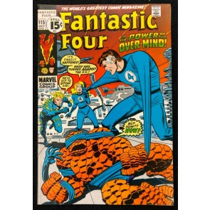 Fantastic Four (1961) #115 VF- (7.5) Watcher Uatu John Buscema Cover & Art