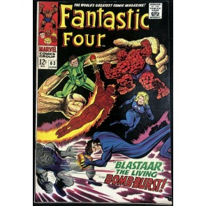 Fantastic Four (1961) #63 VF+ (8.5) vs Blastaar & Sandman