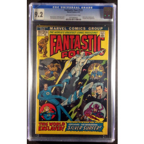 Fantastic Four #123 CGC 9.2 off-white to white (0775956003)