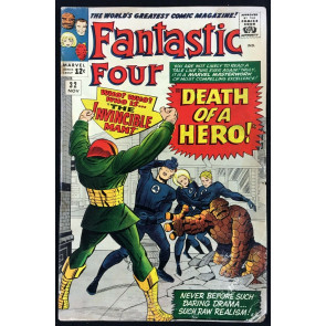 Fantastic Four (1961) #32 GD (2.0) Invincible Man