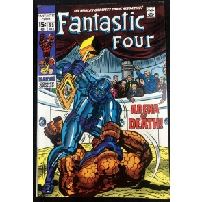 Fantastic Four (1961) #93 VF+ (8.5)