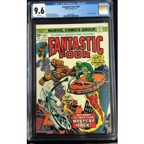 Fantastic Four (1961) #154 CGC 9.6 white pages (2062548001)