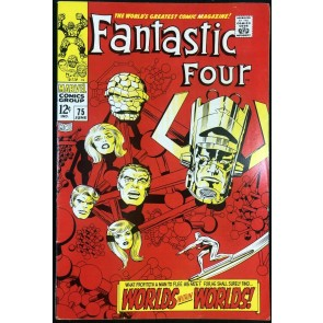 Fantastic Four (1961) #75 FN/VF (7.0) Silver Surfer Cover and Story