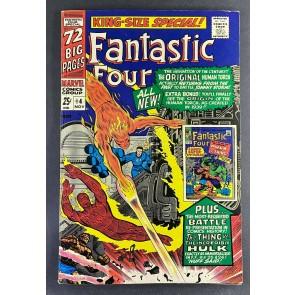 Fantastic Four Annual (1963) #4 FN+ (6.5) 1st Quasimodo Human Torch Thing Hulk