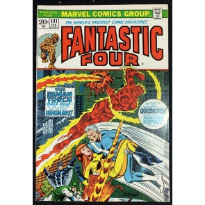 Fantastic Four (1961) #131 VF- (7.5) Inhumans Quick Silver Steranko Cover