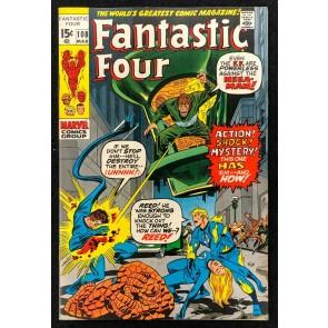 Fantastic Four (1961) #108 VF- (7.5) Annihilus Kirby Buscema Romita