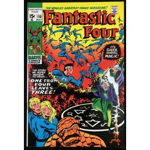 Fantastic Four (1961) #110 VF (8.0) Annihilus Agatha Harkness App
