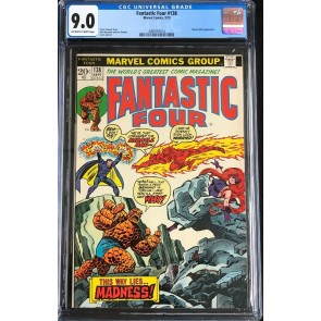 Fantastic Four (1961) #138 140 CGC 9.0 8.5 2 book lot (2069187014) Annihilus