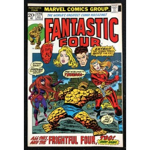Fantastic Four (1961) #129 FN/VF (7.0) 1st Appearance Thundra
