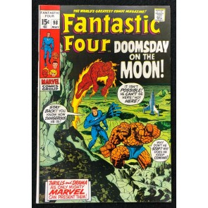 Fantastic Four (1961) #98 FN+ (6.5) Jack Kirby