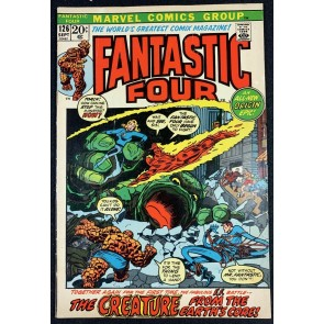 Fantastic Four (1961) #126 FN- (5.5) #1 Cover Swipe