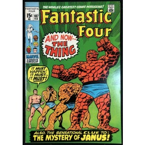 Fantastic Four (1961) #107 VF (8.0)