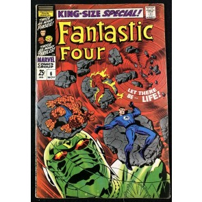 Fantastic Four Annual (1968) #6 FN (6.0) 1st app Franklin Richards & Annihilus