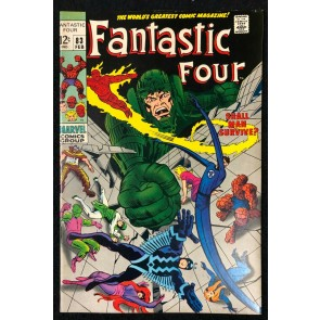 Fantastic Four (1961) #83 VF+ (8.5) Inhumans Jack Kirby Cover & Art