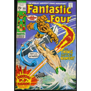 FANTASTIC FOUR #103 FN+ SUB-MARINER