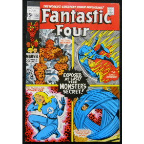 FANTASTIC FOUR #106 VF-