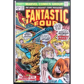 FANTASTIC FOUR #141 FN ANNIHILUS FRANKLIN RICHARDS