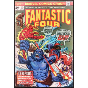 FANTASTIC FOUR #145 FN/VF MEDUSA