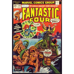 FANTASTIC FOUR #149 FN+ VS SUB-MARINER SUE RICHARDS