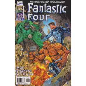 FANTASTIC FOUR (1996) #1 VF/NM BRETT BOOTH COVER
