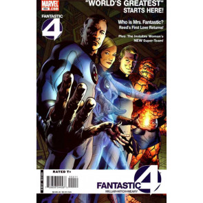 """FANTASTIC FOUR (1998) #'s 554-561 COMPLETE """"WORLD'S GREATEST"""" SET MILLAR HITCH"""