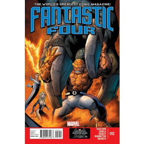 FANTASTIC FOUR (2012) #12 VF+ - VF/NM MARVEL NOW!