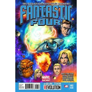 FANTASTIC FOUR (2012) #2 NM 2ND PRINTING VARIANT COVER MARVEL NOW!