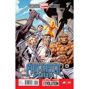 FANTASTIC FOUR (2012) #5 NM MARVEL NOW!