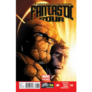 FANTASTIC FOUR (2012) #8 VF - VF+ MARVEL NOW!