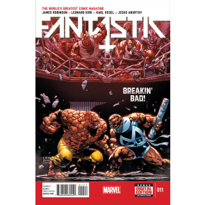 FANTASTIC FOUR (2014) #11 VF/NM MARVEL NOW!
