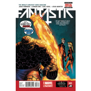 FANTASTIC FOUR (2014) #3 VF+ MARVEL NOW!