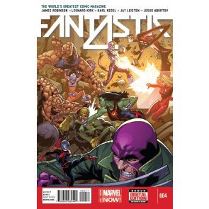 FANTASTIC FOUR (2014) #4 VF/NM MARVEL NOW!