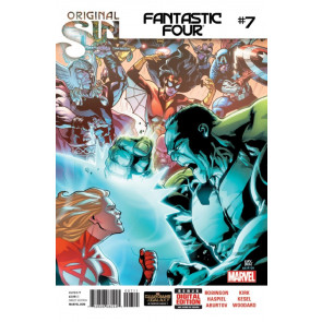 FANTASTIC FOUR (2014) #7 VF/NM ORIGINAL SIN TIE-IN MARVEL NOW!
