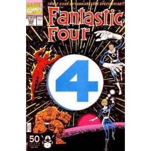 FANTASTIC FOUR #358 VF/NM JOHN BYRNE
