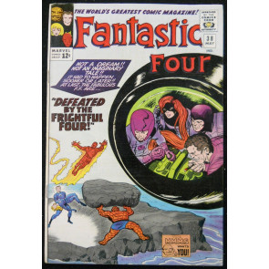 FANTASTIC FOUR #38 FN+ FRIGHTFUL FOUR
