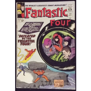 FANTASTIC FOUR #38 VG FRIGHTFUL FOUR MEDUSA