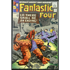 FANTASTIC FOUR #43 FN FRIGHTFUL FOUR APP