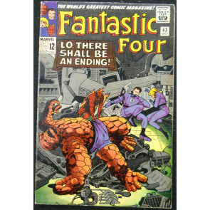 FANTASTIC FOUR #43 FN+ FRIGHTFUL FOUR APP