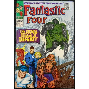 FANTASTIC FOUR #58 FN/VF DOCTOR DOOM