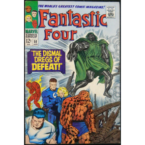 FANTASTIC FOUR #58 VF DOCTOR DOOM
