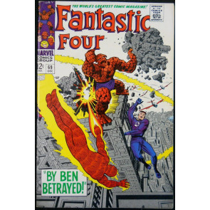 FANTASTIC FOUR #69 FN/VF